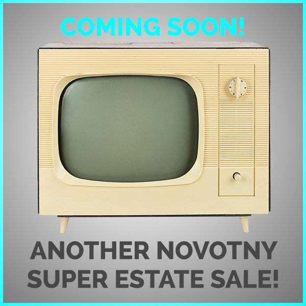 STAY TUNED FOR MORE GREAT ESTATE SALES!