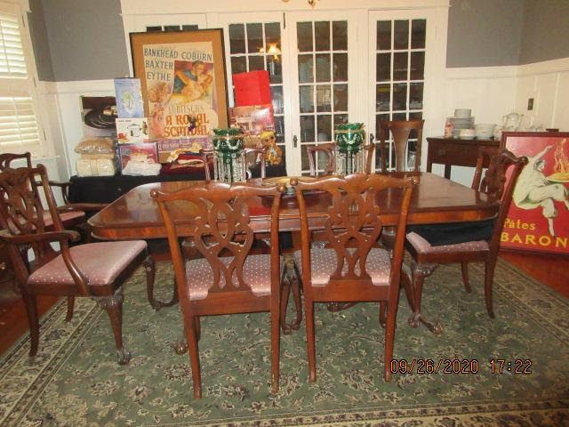 Dining room with furniture for sale