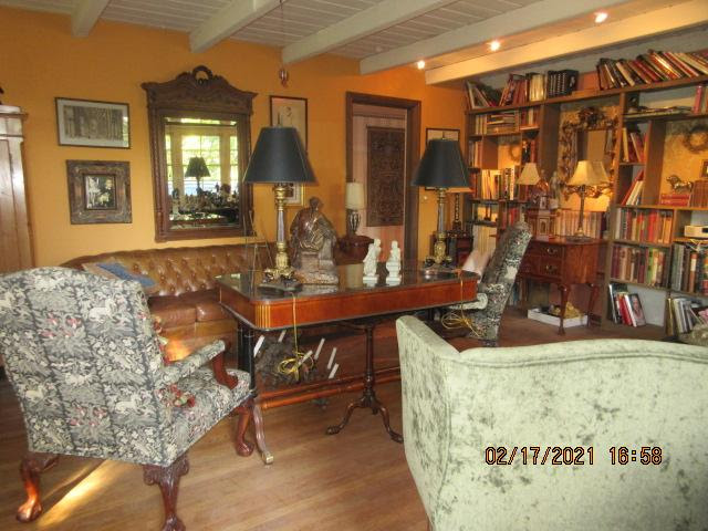 Living area of Sierra Madre Estate Sale